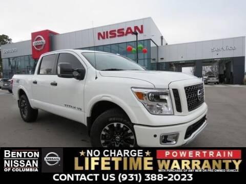 2019 Nissan Titan for sale in Columbia, TN