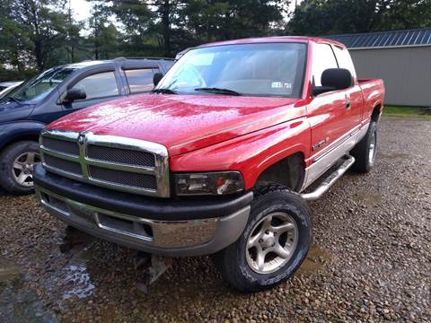 2001 Dodge Ram Pickup 1500 for sale at Seneca Motors, Inc. (Seneca PA) - MEADVILLE, PA LOCATION in Conneaut Lake PA