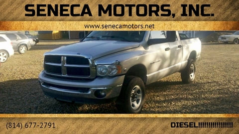 2004 Dodge Ram Pickup 3500 for sale at Seneca Motors, Inc. (Seneca PA) in Seneca PA