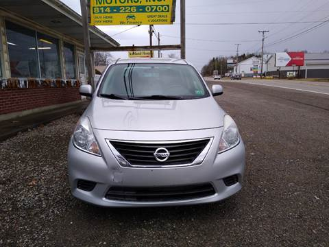 2013 Nissan Versa for sale at Seneca Motors, Inc. (Seneca PA) - SHIPPENVILLE, PA LOCATION in Shippenville PA