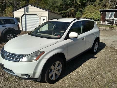 2007 Nissan Murano for sale at Seneca Motors, Inc. (Seneca PA) - WARREN, PA LOCATION in Warren PA