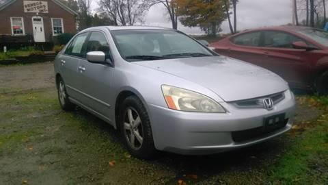 2004 Honda Accord for sale at Seneca Motors, Inc. (Seneca PA) - MEADVILLE, PA LOCATION in Conneaut Lake PA