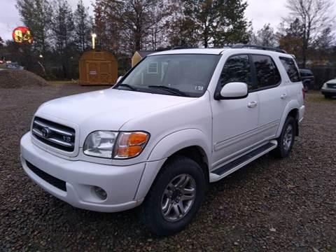 2004 Toyota Sequoia for sale at Seneca Motors, Inc. (Seneca PA) in Seneca PA