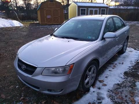 2007 Hyundai Sonata for sale at Seneca Motors, Inc. (Seneca PA) - SHIPPENVILLE, PA LOCATION in Shippenville PA