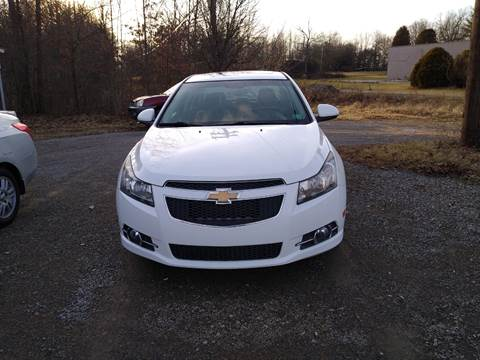 2011 Chevrolet Cruze for sale at Seneca Motors, Inc. (Seneca PA) - SHIPPENVILLE, PA LOCATION in Shippenville PA