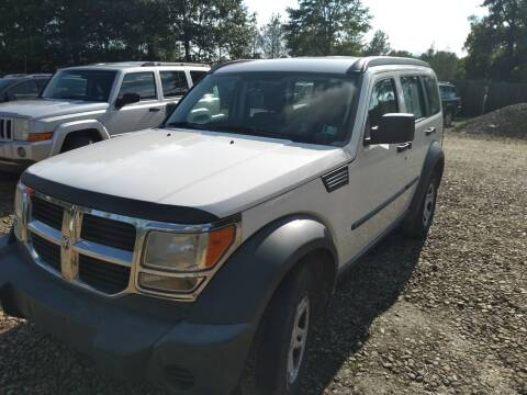 2008 Dodge Nitro for sale at Seneca Motors, Inc. (Seneca PA) in Seneca PA