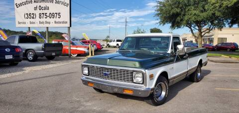 1972 Chevrolet C/K 10 Series for sale at Executive Automotive Service of Ocala in Ocala FL