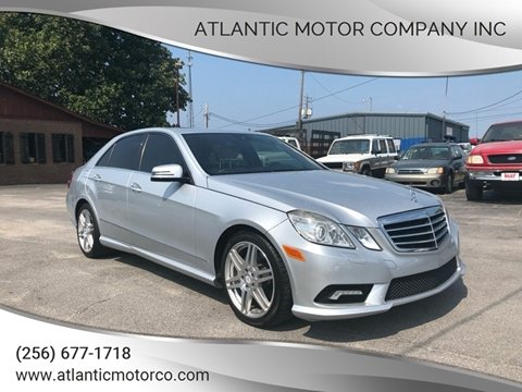 2010 Mercedes-Benz E-Class for sale in Albertville, AL