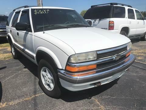 1999 Chevrolet Blazer for sale in Albertville, AL