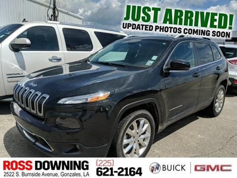 2015 Jeep Cherokee for sale in Gonzales, LA