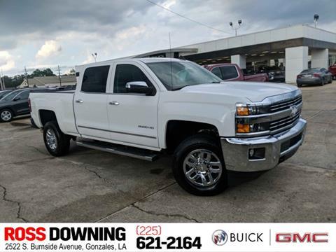 Used Trucks For Sale In Louisiana >> 2017 Chevrolet Silverado 2500hd For Sale In Gonzales La