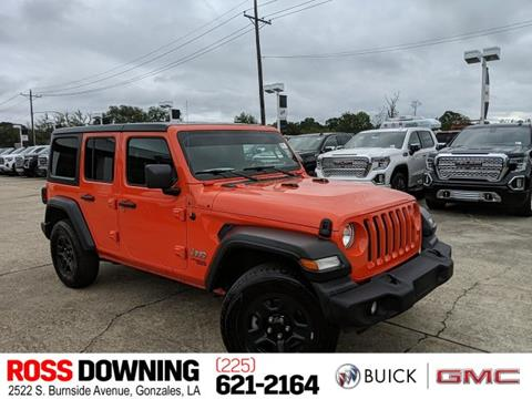 2018 Jeep Wrangler Unlimited for sale in Gonzales, LA