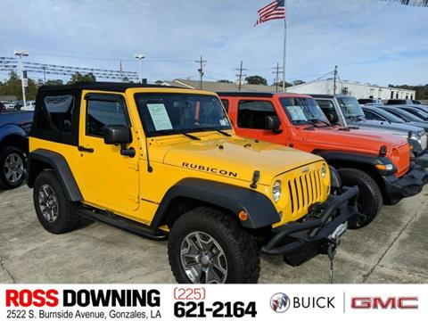 2015 Jeep Wrangler for sale in Gonzales, LA