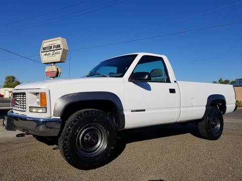 1996 GMC Sierra 2500 for sale in Marysville, CA