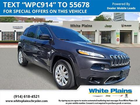 2015 Jeep Cherokee for sale in White Plains, NY