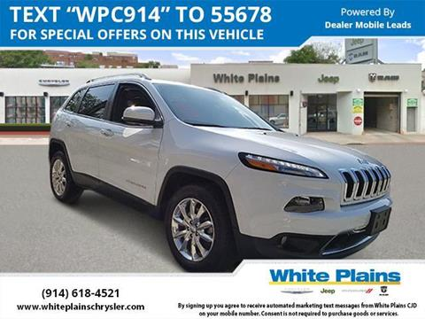 2016 Jeep Cherokee for sale in White Plains, NY