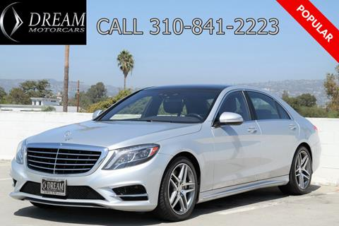 2016 Mercedes-Benz S-Class for sale in Los Angeles, CA