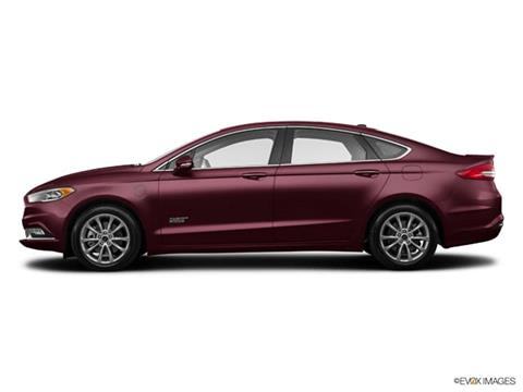 2017 Ford Fusion Energi for sale in Ambler, PA