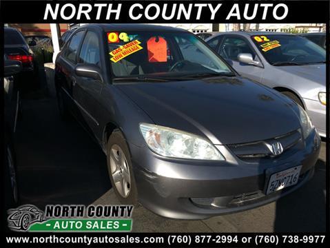 2004 Honda Civic for sale in Oceanside, CA
