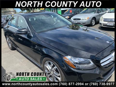 2016 Mercedes-Benz C-Class for sale at North County Auto in Oceanside CA