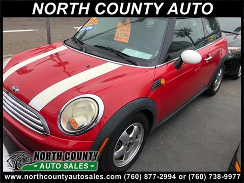 2008 MINI Cooper for sale at North County Auto in Oceanside CA