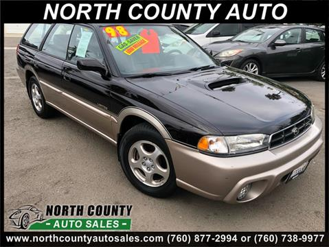 1998 Subaru Legacy for sale at North County Auto in Oceanside CA