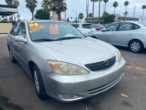 2004 Toyota Camry for sale at North County Auto in Oceanside CA