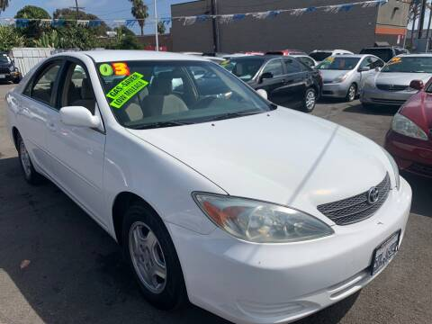 2003 Toyota Camry for sale at North County Auto in Oceanside CA