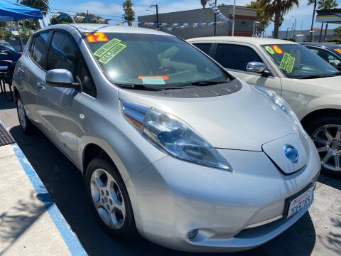 2012 Nissan LEAF for sale at North County Auto in Oceanside CA