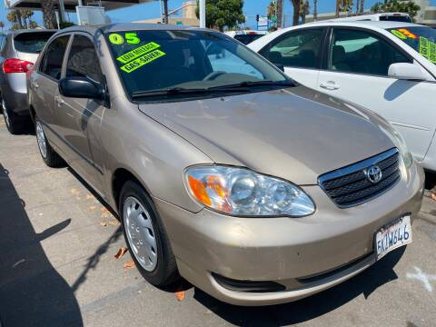 2005 Toyota Corolla for sale at North County Auto in Oceanside CA
