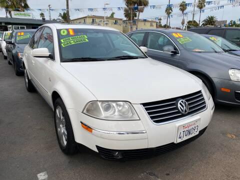 2001 Volkswagen Passat for sale at North County Auto in Oceanside CA
