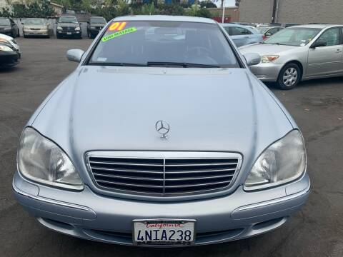 2001 Mercedes-Benz S-Class for sale at North County Auto in Oceanside CA