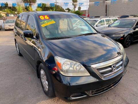 2006 Honda Odyssey for sale at North County Auto in Oceanside CA