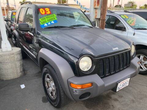 2003 Jeep Liberty for sale at North County Auto in Oceanside CA