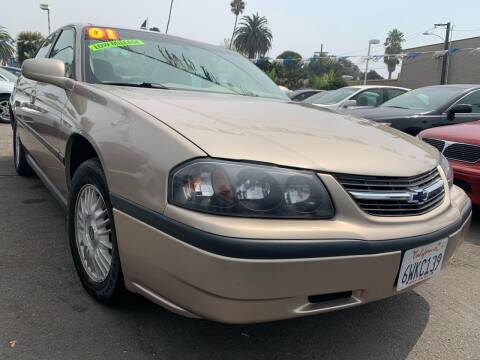 2001 Chevrolet Impala for sale at North County Auto in Oceanside CA