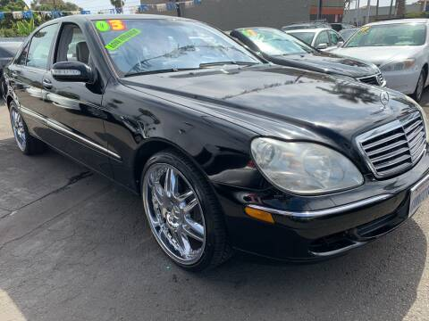 2003 Mercedes-Benz S-Class for sale at North County Auto in Oceanside CA