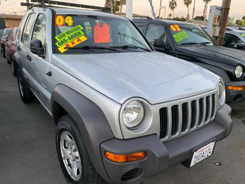 2004 Jeep Liberty for sale at North County Auto in Oceanside CA