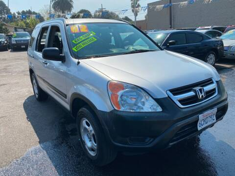 2002 Honda CR-V for sale at North County Auto in Oceanside CA