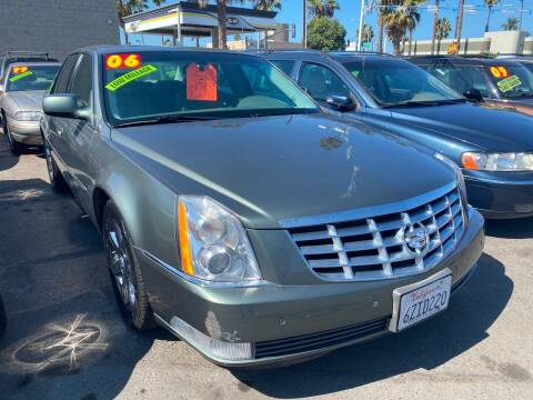 2006 Cadillac DTS for sale at North County Auto in Oceanside CA