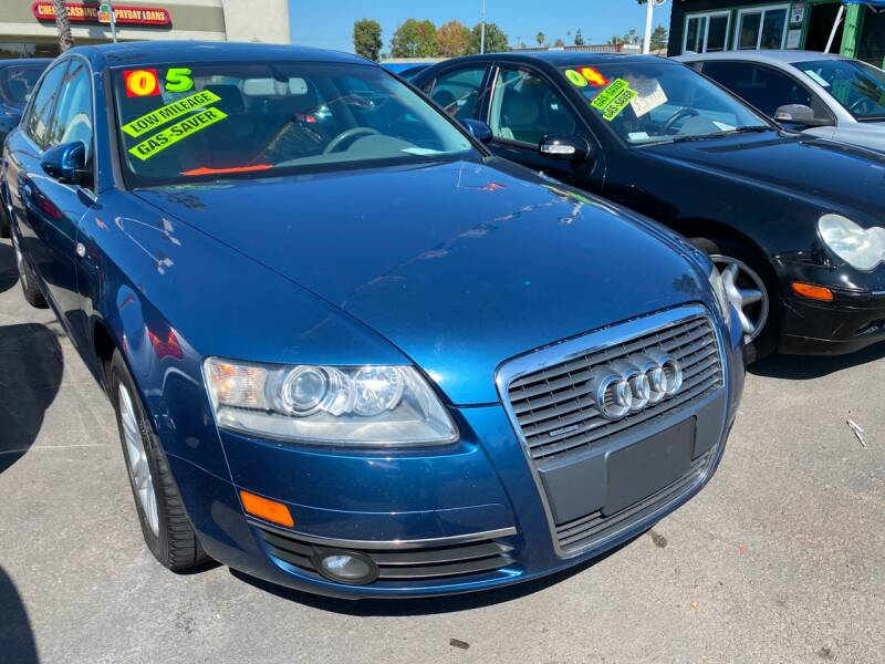 2005 Audi A6 for sale at North County Auto in Oceanside CA