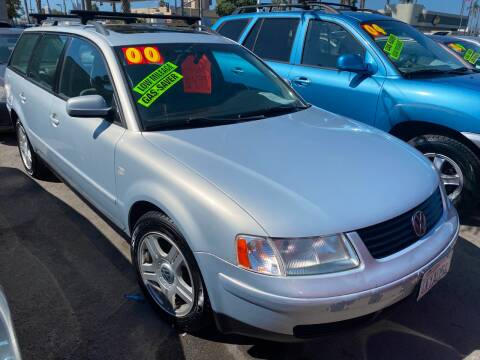 2000 Volkswagen Passat for sale at North County Auto in Oceanside CA
