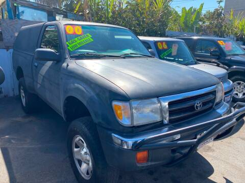 2000 Toyota Tacoma for sale at North County Auto in Oceanside CA
