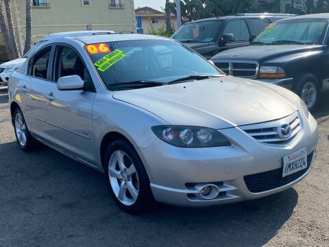 2006 Mazda MAZDA3 for sale at North County Auto in Oceanside CA