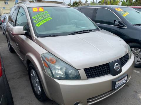 2006 Nissan Quest for sale at North County Auto in Oceanside CA