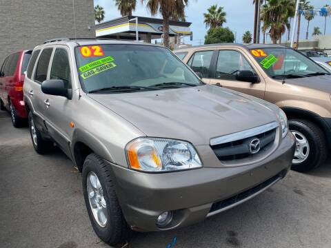 2002 Mazda Tribute for sale at North County Auto in Oceanside CA