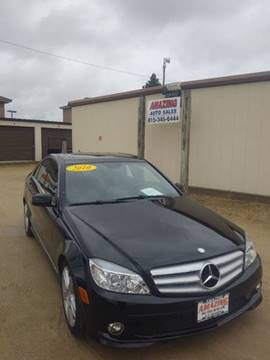2010 Mercedes-Benz C-Class for sale at AMAZING AUTO SALES in Marengo IL