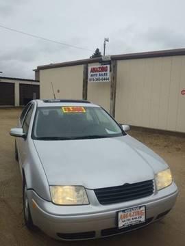 2001 Volkswagen Jetta for sale at AMAZING AUTO SALES in Marengo IL