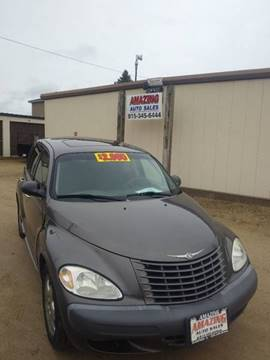 2002 Chrysler PT Cruiser for sale at AMAZING AUTO SALES in Marengo IL