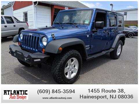 2010 Jeep Wrangler Unlimited for sale in Hainesport, NJ