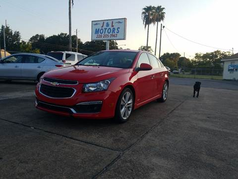 2015 Chevrolet Cruze for sale in Pascagoula, MS